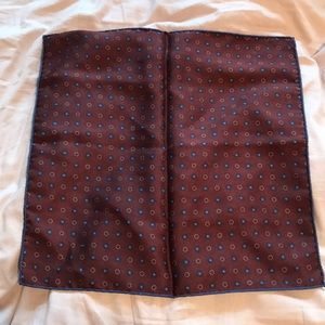 ALTEA 100% SILK POCKET-SQUARE